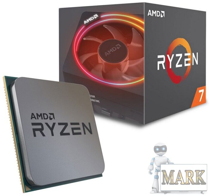Процессор AMD Ryzen 7 3700X (100-100000071BOX) BOX