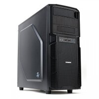 Корпус Zalman Z1; ATX; Midi-Tower; 2х120 мм; без БП; черный