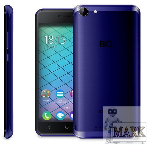 Смартфон BQ StrikePower Dark Blue Brushed (BQ-5059)