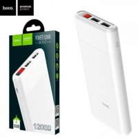 12000mA/h Внешний аккумулятор powerbank HOCO Entourage B35C White