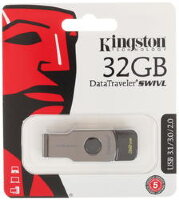 флеш-драйв USB 3.0 KINGSTON DT SWIVL 32 GB
