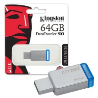флеш-драйв KINGSTON DT 50 64 GB USB 3.0
