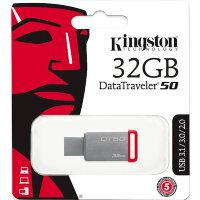 флеш-драйв KINGSTON DT 50 32 GB USB 3.0