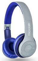 Bluetooth наушники Microlab T970BT Grey-Blue