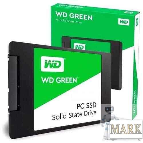 SSD-накопитель 240Гб WD Green (WDS240G2G0A) - Купить в ДНР: цены ...